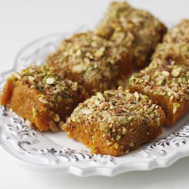 Gajar barfi o dulce de zanahoria, receta de postre hindú