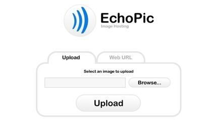 EchoPic, una alternativa más para alojar nuestras imágenes sueltas