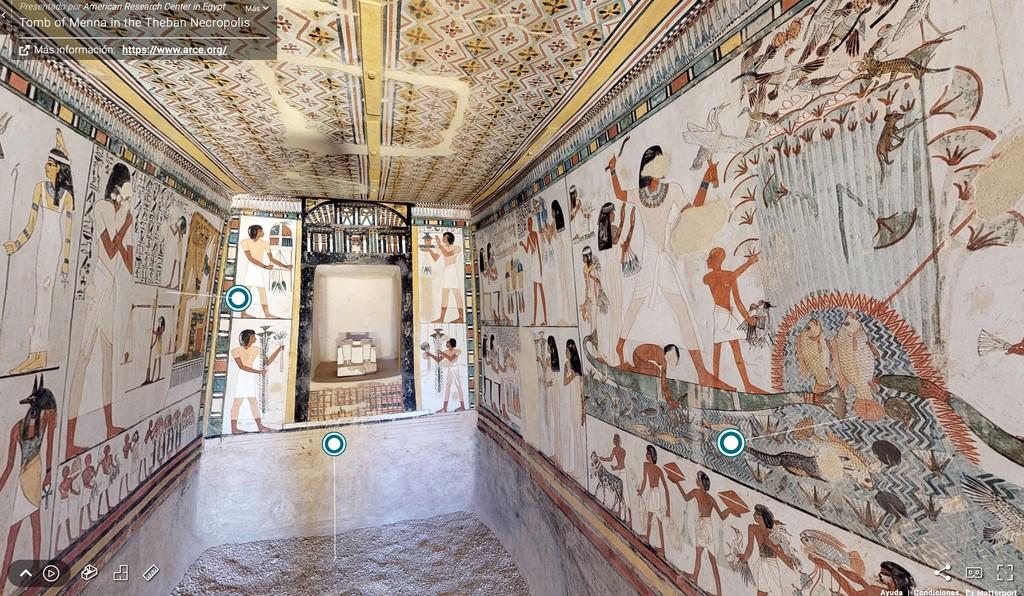 Experimenta Egipto desde casa: los secretos de los templos egipcios al alcance de un clic