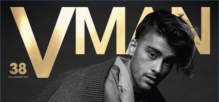 Cuesta reconocer a Zayn Malik en su última portada para VMAN