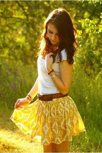 falda estampada3