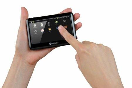 SlidePad y PocketPad, los nuevos equipos táctiles con Android de Memup