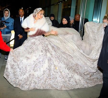 Vestido Novia Jennifer Lopez 2