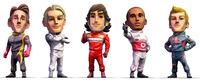 Codemasters se imagina una Fórmula 1 de dibujos animados