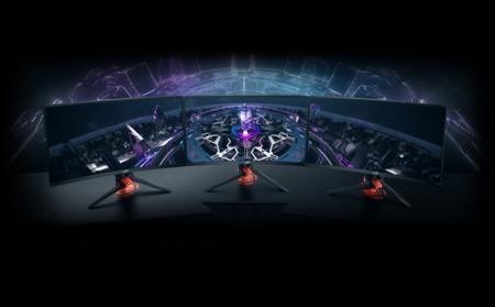 Asus aumenta el catalogo de monitores gaming con el ROG Strix XG27VQ, una pantalla curva de 27 pulgadas
