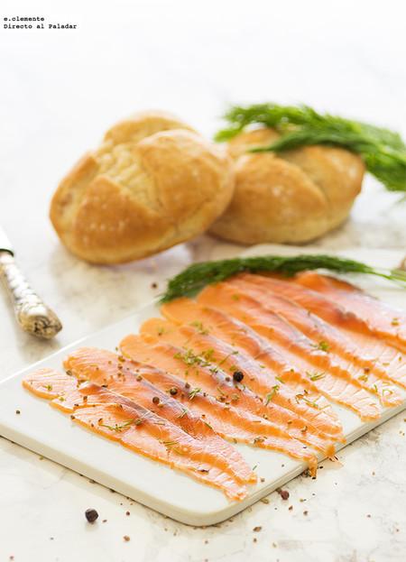 salmón gravlax