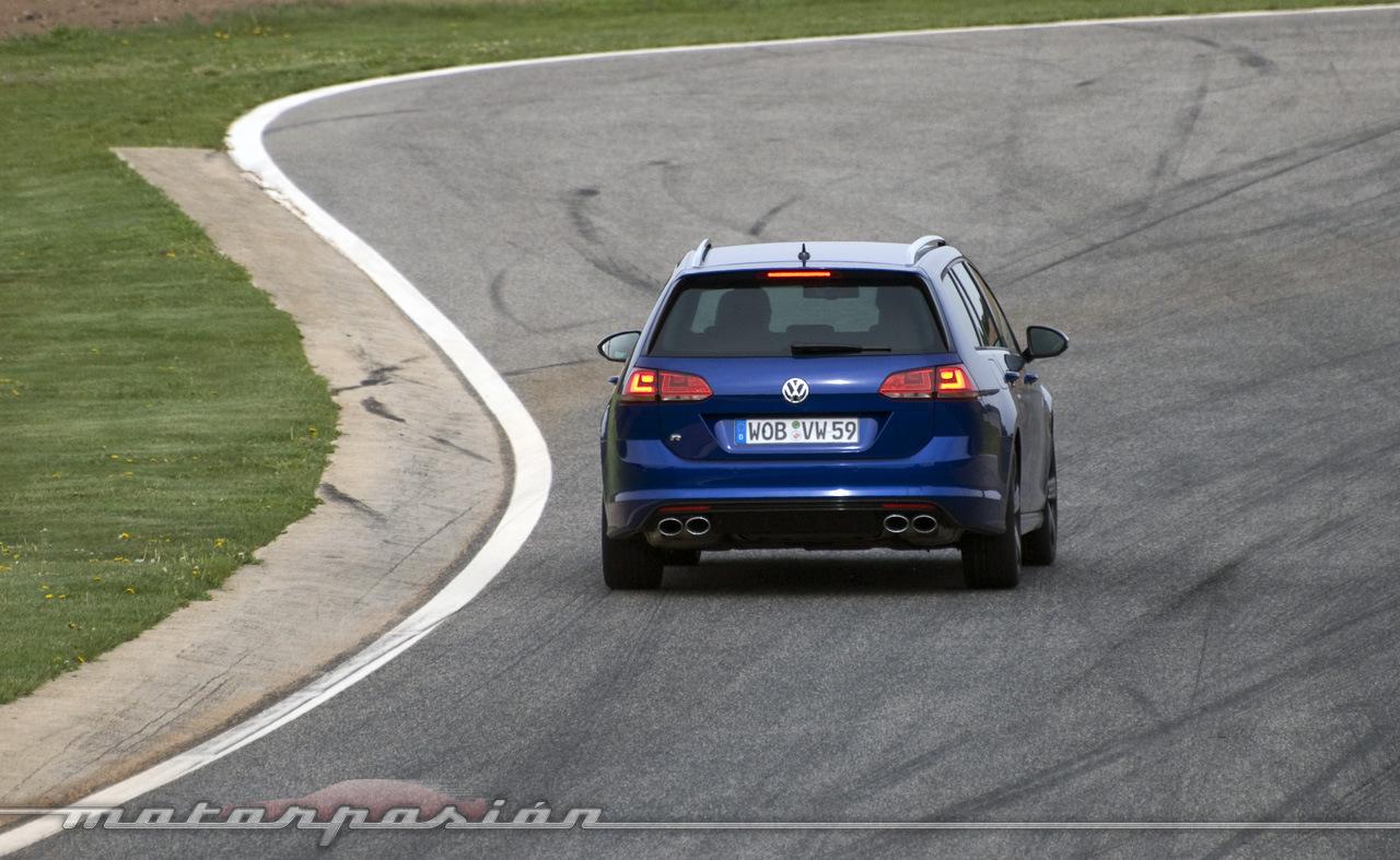 Foto de Volkswagen Golf Variant R, toma de contacto (18/18)