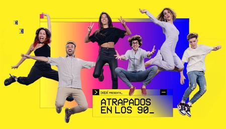 """IKEA lanza el reality show """"Atrapados en los 90"""" para mostrar cómo ha cambiado la vida en el hogar en sus 25 años en España"""