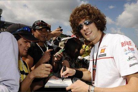 MotoGP Japón 2010: Marco Simoncelli, el rookie tapado