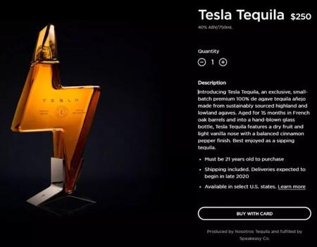 Elon Musk ya tiene su propio tequila Tesla: lo que empezó como una broma  terminó como una botella de 250 dólares