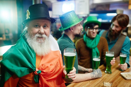Cerveza Verde San Patricio Dia