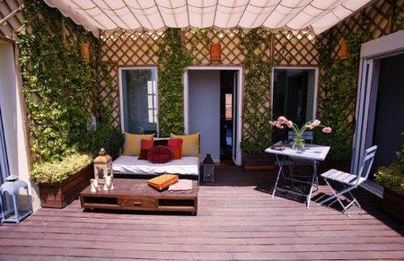 Una terraza diseñada por Bondian Desighn