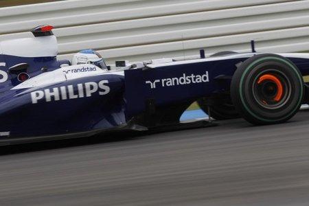 GP de Alemania 2010: Williams F1 de nuevo entre los diez primeros y verdugos de Michael Schumacher en la Q2