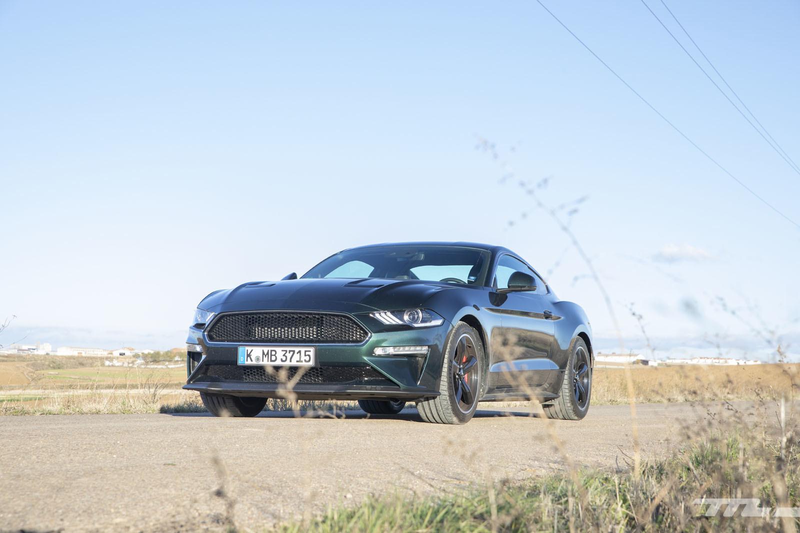 Foto de Ford Mustang Bullitt (prueba) (24/45)