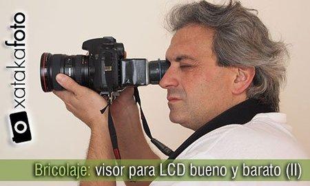 Bricolaje: visor para LCD por un par de euros (II)