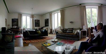 Hoteles bonitos - chateau tourelles - sala principal