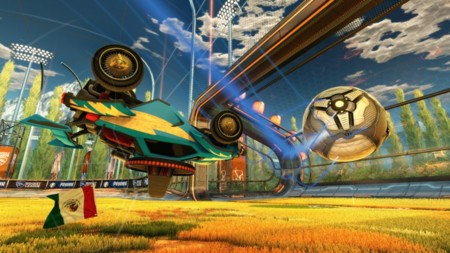 Rocket League está a una semana justa de su debut en Xbox One
