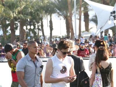 Primeros looks de Coachella: los hijos de las celebridades ya están en el festival