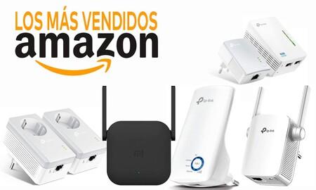 Estos repetidores WiFi y PLCs salen más baratos en Amazon y son los más vendidos