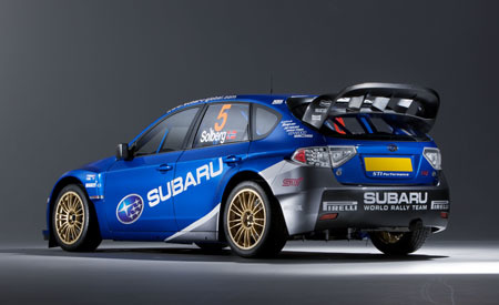 El Impreza WRC2008 hará su debut en el Acrópolis