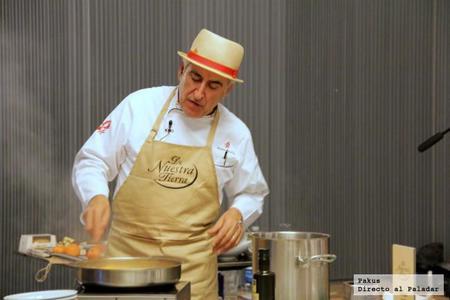 """Menú """"De nuestra tierra"""" del chef Adolfo Muñoz"""