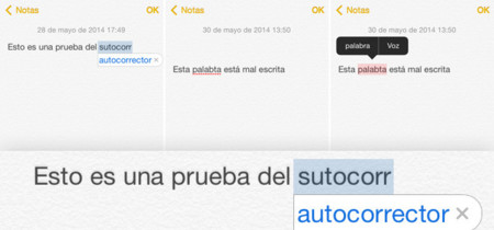 iOS desde cero: Autocorrección y dictado