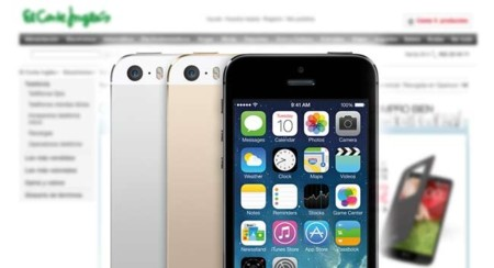 El Corte Inglés venderá el iPhone 4s, 5c y 5s libres y al mismo precio que las Apple Store (Actualizado)