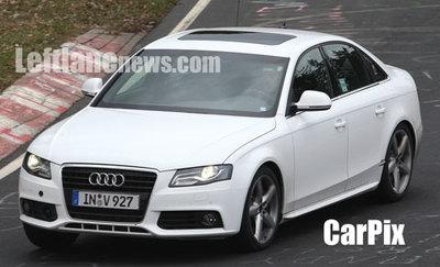 Nuevas fotos espía del Audi S4
