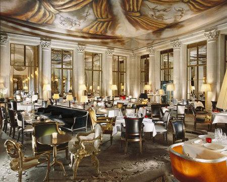 Restaurante Le Dalí en el Hotel Le Meurice Paris, se terminaron las excentricidades gastronómicas