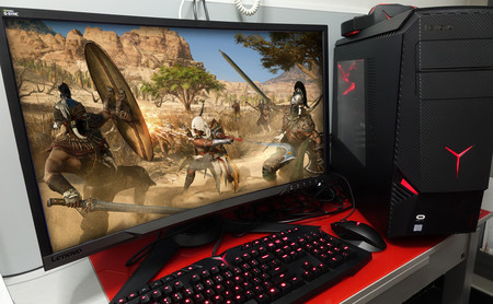 Lenovo Legion Y920, análisis: un PC con un hardware «de primera división» que aspira a no dejarse intimidar por ningún juego