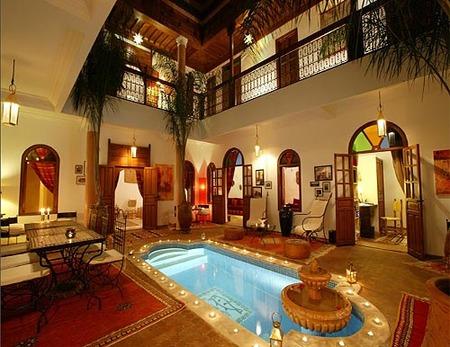 Casa de lujo en marruecos - Decoracion marruecos ...