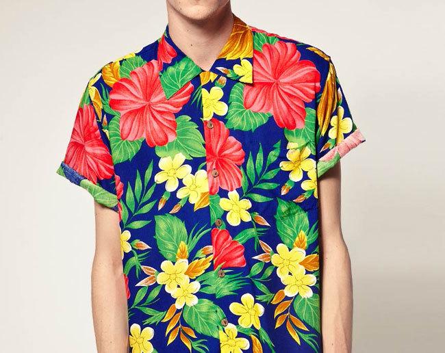 Vuelven las camisas hawaianas cinco modelos que puedes encontrar en Asos