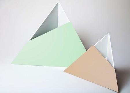 La adivinanza decorativa del viernes: triángulos