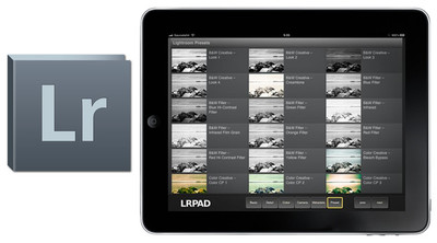 LRPAD, controla Adobe Lightroom desde el iPad