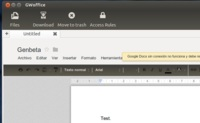 GWoffice, integrando Google Docs con el escritorio de Ubuntu