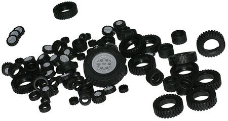 Lego, el mayor fabricante de neumáticos, celebra 50 años produciéndolos