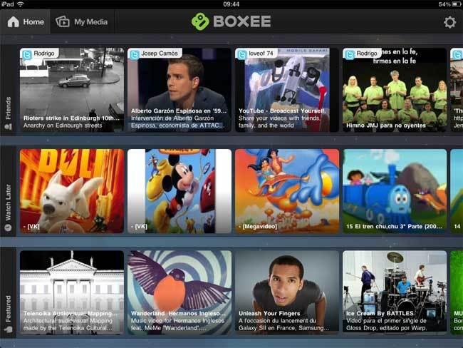 Foto de Boxee para iPad (1/7)
