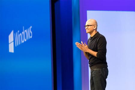 Satya Nadella Microsoft Windows 10
