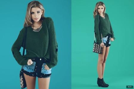 LF Stores lookbook octubre 2012: todas las tendencias se reúnen aquí