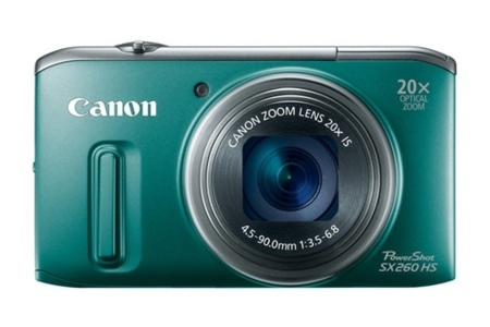 CanonSX260HSocómometerunzoom20Xyniinmutarse