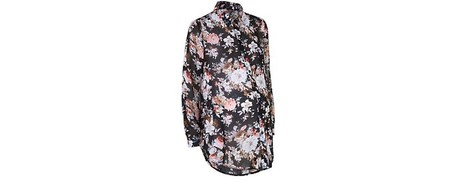 camisa flores new look premama