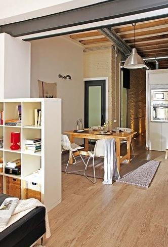 loft barcelona comedor