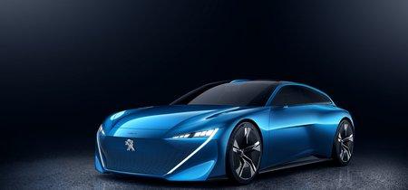 Shooting brake con 300 CV, conducción autónoma y conectividad total, así es el Peugeot Instinct Concept