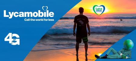 Lycamobile también añade 100 minutos gratis junto a los bonos desde 7 GB por 10 euros