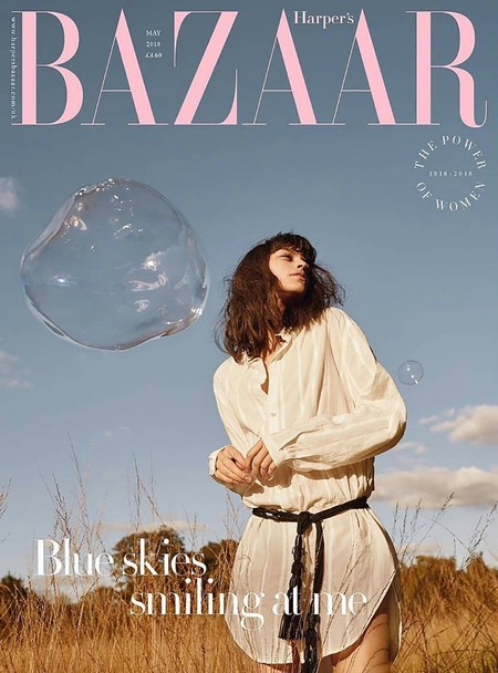 Agata Harrington Young Hearts Run Free For Harpers Bazaar May 2018 4
