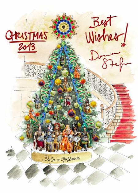 El hotel Claridge's encarga su mítico árbol de Navidad a Dolce & Gabbana
