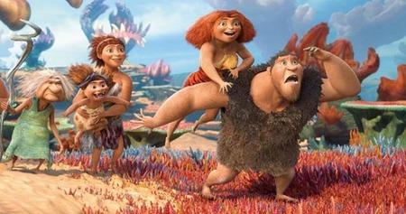 'Los Croods: una aventura prehistórica', la película