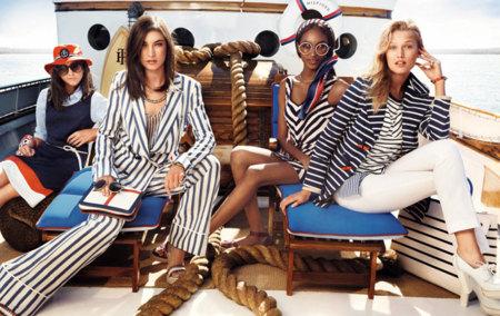 Tommy Hilfiger campaña Primavera-Verano 2013: nos vamos de crucero
