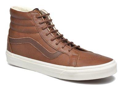 Las zapatillas Vans Sk8-Hi Reissue en cuero pueden ser tuyas por 67,20 euros gracias a Sarenza