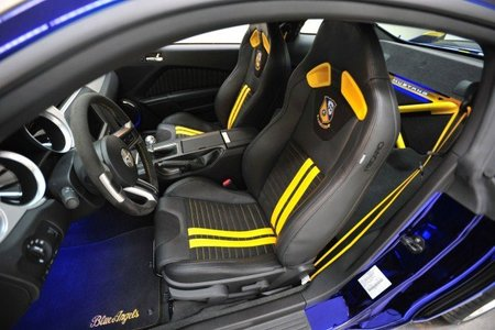 Ford Mustang Blue Angels Interior